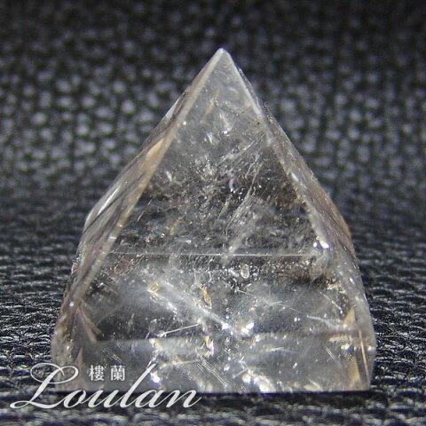 水晶 ピラミッド 約33×33×33mm 重さ約45.5g【限定1点モノ 7102-00-925-004】天然石 パワーストーン 置物