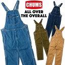 チャムス / CHUMS オール オーバー ザ オーバーオール All Over The Overall (カバーオール) CHUMS(チャムス)ONLINE SHOP・・・