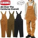チャムス / CHUMS オール オーバー ザ コーデュロイ オーバーオール All Over The Corduroy Overall (カバーオール) CHUMS(チャムス)ONLINE SHOP・・・