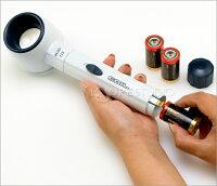虫眼鏡レイライトルーペ46mm5.4倍コイル製拡大拡大鏡ルーペ虫眼鏡ライト付きルーペ送料無料【RCP】