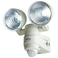 センサーライト 屋外 LED 屋内 ムサシ musashiセンサーライト 屋外 LED 4W×2 ライテックスシリ...