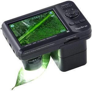 携帯式 デジタル顕微鏡ViewTer 10〜200倍 3R-VIEWTER-500 デジタル …