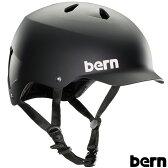 ヘルメット 自転車 WATTS ワッツ マットブラック BE-BM25BMBLK おしゃれ ツバ付きヘルメット ジャパンフィット スケボー ロードバイク サイクリング BERN バーン
