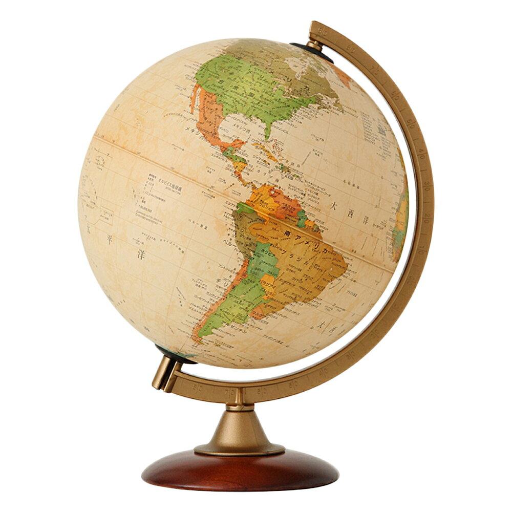 地球儀 インテリア アンティーク 子供用 学習 行政図 25cm イタリア製