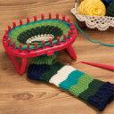 オーバルニットルーム スタンド付 57967 クロバー Clover 手芸 編み物 編み機 ニット クロバー リリアンみたいな輪編みツール おもちゃ 室内