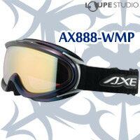 ゴーグル 眼鏡対応 大型 スキー スノーボード 偏光レンズ AX888-WMP [16-17カタログモデル] BK[オ...
