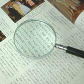 エボ柄ルーペ 1230 2.5倍 75mm 拡大鏡 [手持ちルーペ 虫眼鏡 虫めがね 天眼鏡] 池田レンズ ルーペ 拡大鏡 虫眼鏡