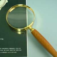 放大鏡[手頭擁有放大鏡放大鏡放大透鏡放大鏡]黄金放大鏡1436 2.5倍75mm池田透鏡放大鏡大型放大鏡放大鏡敬老日禮物禮物