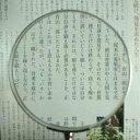 拡大鏡 [手持ちルーペ 虫眼鏡 虫めがね 天眼鏡] 木柄ルーペ 1451-P 100mm 池田レンズ ...