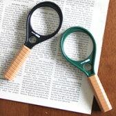 【訳あり】 アウトレット 拡大鏡 ラケットルーペ50 虫眼鏡 3倍 6倍 50mm 池田レンズ 拡大鏡 ルーペ 虫眼鏡