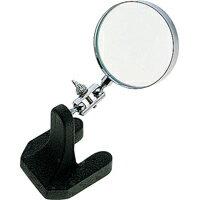 虫眼鏡 ルーペ P-1 スタンド型 65mm 3倍 75539 虫めがね 検査 実験 裁縫 手芸 卓上 拡大鏡 スタンド ルーペ シンワ測定