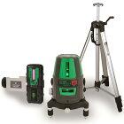 レーザーロボ グリーン Neo41BRIGHT 受光器・三脚セット 78291 シンワ測定 レーザー 光学機器 建築 土木 測量 測定器 測量用品