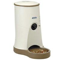 ペット自動給餌器 わんにゃんぐるめ ベージュ CD-600 YAMASA 自動給餌器 犬 猫 餌やり機 タイマー ...