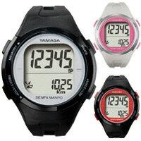 ウォッチ万歩計 小型 腕時計 ヤマサ DEMPA MANPO[電波時計] TM-500 とけい万歩 腕時計タイプ 歩数...