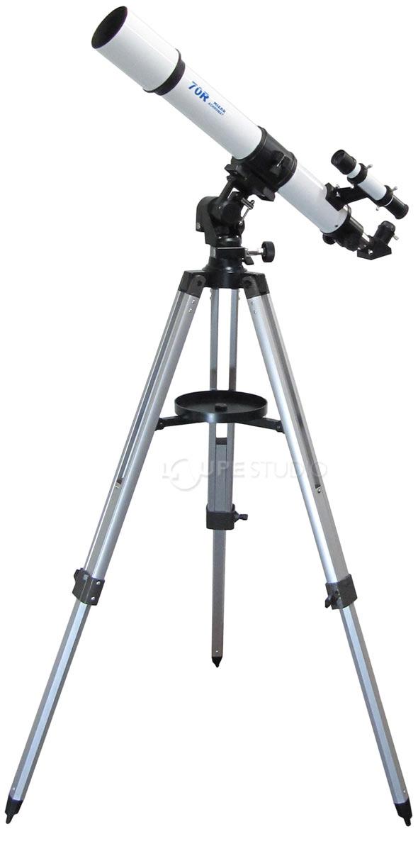 天体望遠鏡 子供 初心者 MT-70R-S 35倍-154倍 70mm 小学生 屈折式