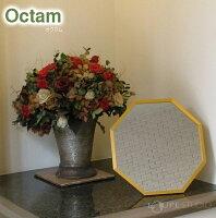 風水八角OctamOctagonStand/WallMirror[オクタム八角形スタンド/ウォールミラー]Lサイズ・壁掛け専用