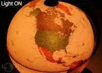 【訳ありアウトレット特価】地球儀[ライト付き]インテリアアンティーク子供用学習おすすめ行政図球径25cmオルビスOrbysイタリア製おしゃれ送料無料42%OFF【RCP】