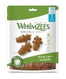 ウィムズィーズアリゲーターS小型犬向け7個入り105g(体重7〜12kg)デンタルガム歯磨き犬用