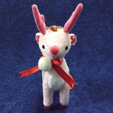 トゥインクルレインディアバッグチャーム リボン(赤鼻のトナカイ) サイズ:H15cm(角込み)
