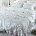 【送料無料】人工 シルク ドルチェA・ ダブル 4点セット|ウェディングドレス のような デザイン 寝具セット|全サイズオーダー可能|布団丸洗い|ピンク|かわいい|新居|子供部屋|新婚【高級寝具】|布団セット|寝具セット|かわいい寝具|掛け布団|ふとん