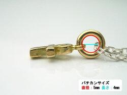 ゴールドアクセサリー18金製アンクペンダントトップ日本製K18