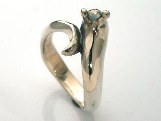 銀のナメクジリング
