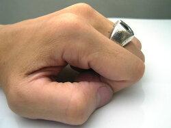 【LOVECRAFT/ラブクラフト】ストーンホースシューリング【スターリングシルバー/925】馬蹄蹄鉄ラッキーセブン7【送料無料】ハンドメイド手作りリング指輪プレゼントギフト包装メンズレディース【サイズ6〜22号】シルバーアクセサリー