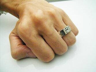 シルバーアクセサリー送料無料!さくらリング(wr041)和柄リングメンズレディース指輪花SAKURA桜