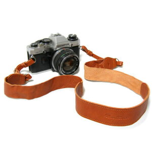 【送料無料】本革 日本製 カメラストラップ レザー 一眼レフ かわいい おしゃれ ナチュラル シンプル メンズ レディース ウォッシュドレザーのカメラストラップ M【LoveHands LH-7259】