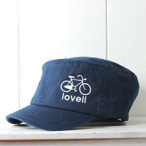 [lovell/ラベル]ワークキャップ自転車柄メンズレディースユニセックスLV841