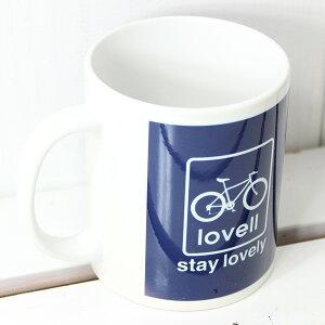マグカップmugcupMTB自転車ラベル