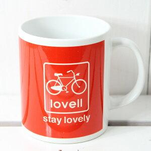 [lovellラベル]マグカップコーヒーカップ便利な自転車グッズ!88013DUTCH