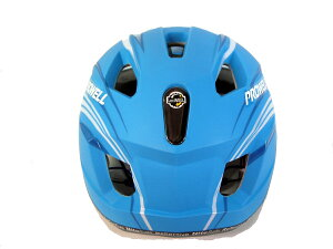 PROWELLマットブルー青艶消しツヤ消しMTBスポーツ自転車ヘルメットプロウェル
