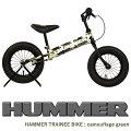 HAMMERハマーTRAINEEBIKEカモフラージュグリーン迷彩キックバイクバランスバイク