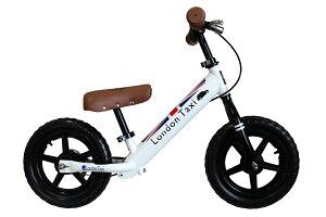 【クーポン発行中】LondonTaxi(ロンドンタクシー)キックバイクバランスバイクスタンドセットストライダースタンド子供練習ホワイト白