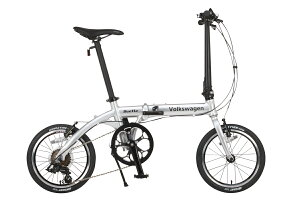 折りたたみ自転車16インチ折り畳み自転車VolkswagenBeetleVW-166AL