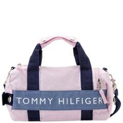 TOMMY HILFIGER トミーヒルフィガー L200150  661 PINK/BLUE マイクロミニ ボストンバッグ