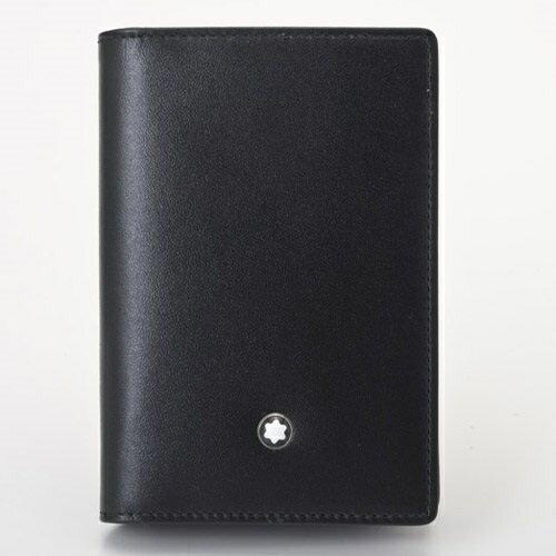 【24時間限定ポイント5倍 5/15 00:00スタート】MONTBLANC モンブラン カードケース メンズ ブラック 7167
