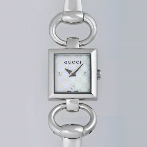 GUCCI グッチ 腕時計 レディース YA120517 トルナブォーニ ホワイトシェル