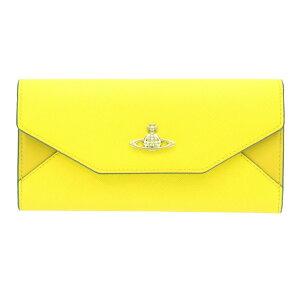 9b0716cabfe3 Vivienne Westwood ヴィヴィアンウエストウッド 長財布 32835 YELLOW ...