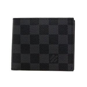LOUIS VUITTON ルイヴィトン 二つ折り財布 N63336 ダミエグラフィット ポルトフォイユ・マルコNM