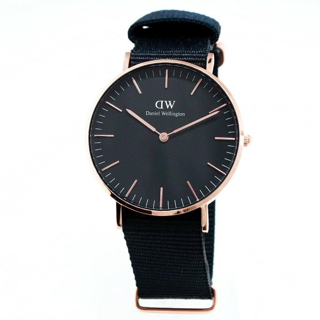 Daniel Wellington ダニエルウェリントン 腕時計 36MM 00100150DW Classic Black CORNWALL