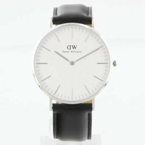 Daniel Wellington ダニエルウェリントン 腕時計 メンズ 40mm DW00100020 ホワイト クラシック
