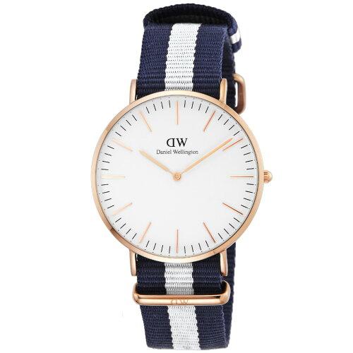 Daniel Wellington ダニエルウェリントン 腕時計 メンズ 40mm DW00100004 ホワイト グラスゴー 【f...