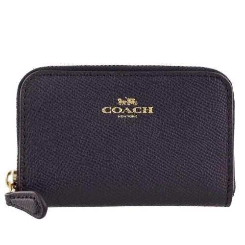 COACH OUTLET コーチ アウトレット コインケース レディース ネイビー F27569 IMMID