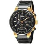 Ferragamo フェラガモ 腕時計 メンズ F-80 ブラック F55LCQ75909S113