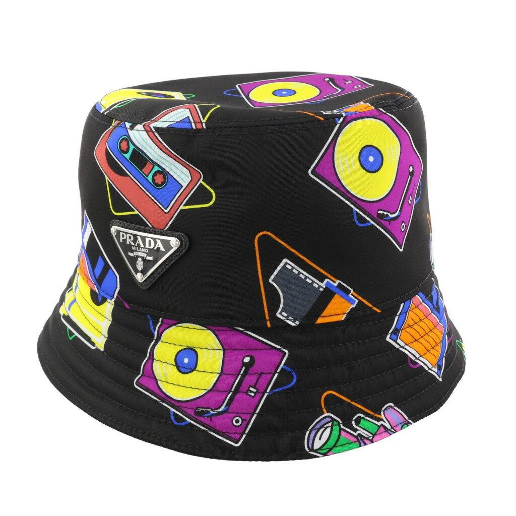 メンズ帽子, ハット PRADA 2HC137 2DFK F0002 NERO