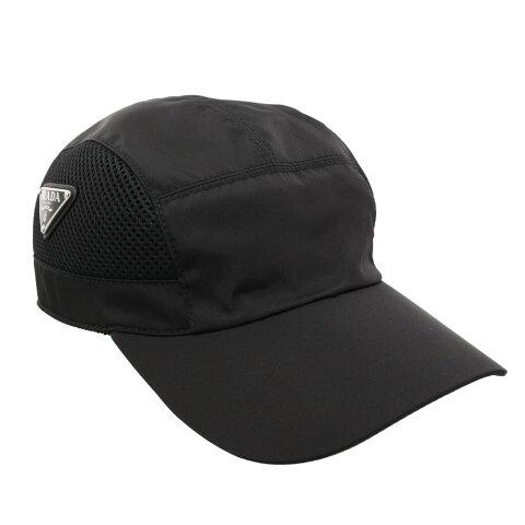 PRADA プラダ 帽子 メンズ ブラック 2HC193 ERZ F0002 NERO