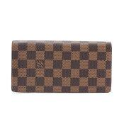 LOUIS VUITTON ルイヴィトン 財布 N60017 ダミエ ポルトフォイユ・ブラザ
