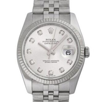 ROLEX Rolex Datejust 116234 new. G Silver mens